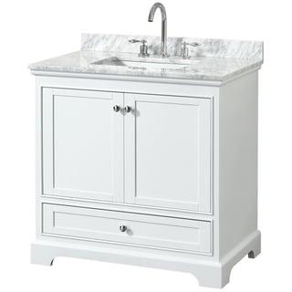 Wyndham Collection Deborah 36-inch Single Bathroom Vanity