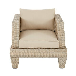 Madison Park Bayard Light Brown/ Beige Outdoor Lounge