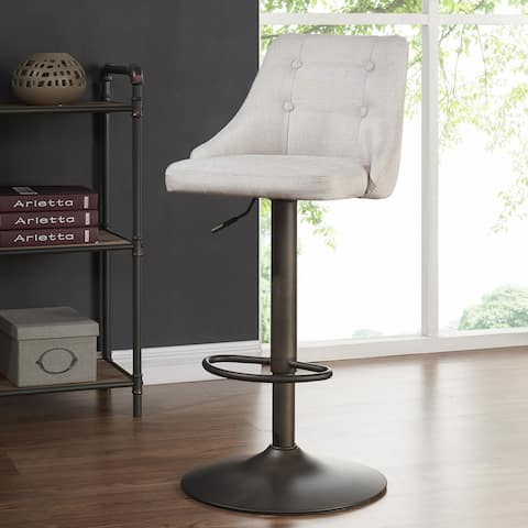 Adyson-Fabric Adjustable-height Stools