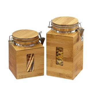 Furinno DaPur Bamboo Tight Canister