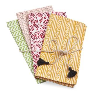 TAG Bali Block Print Napkin Set Of 4
