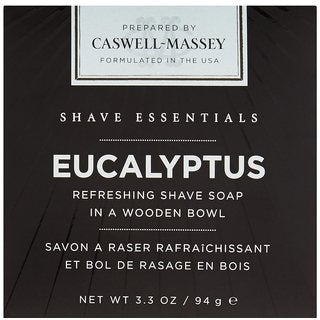 Caswell-Massey Eucalyptus 3.3-ounce Shave Soap in a Bowl