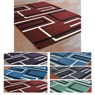 Super Soft 3-D Linear Pattern Area Rug (8' x 10')