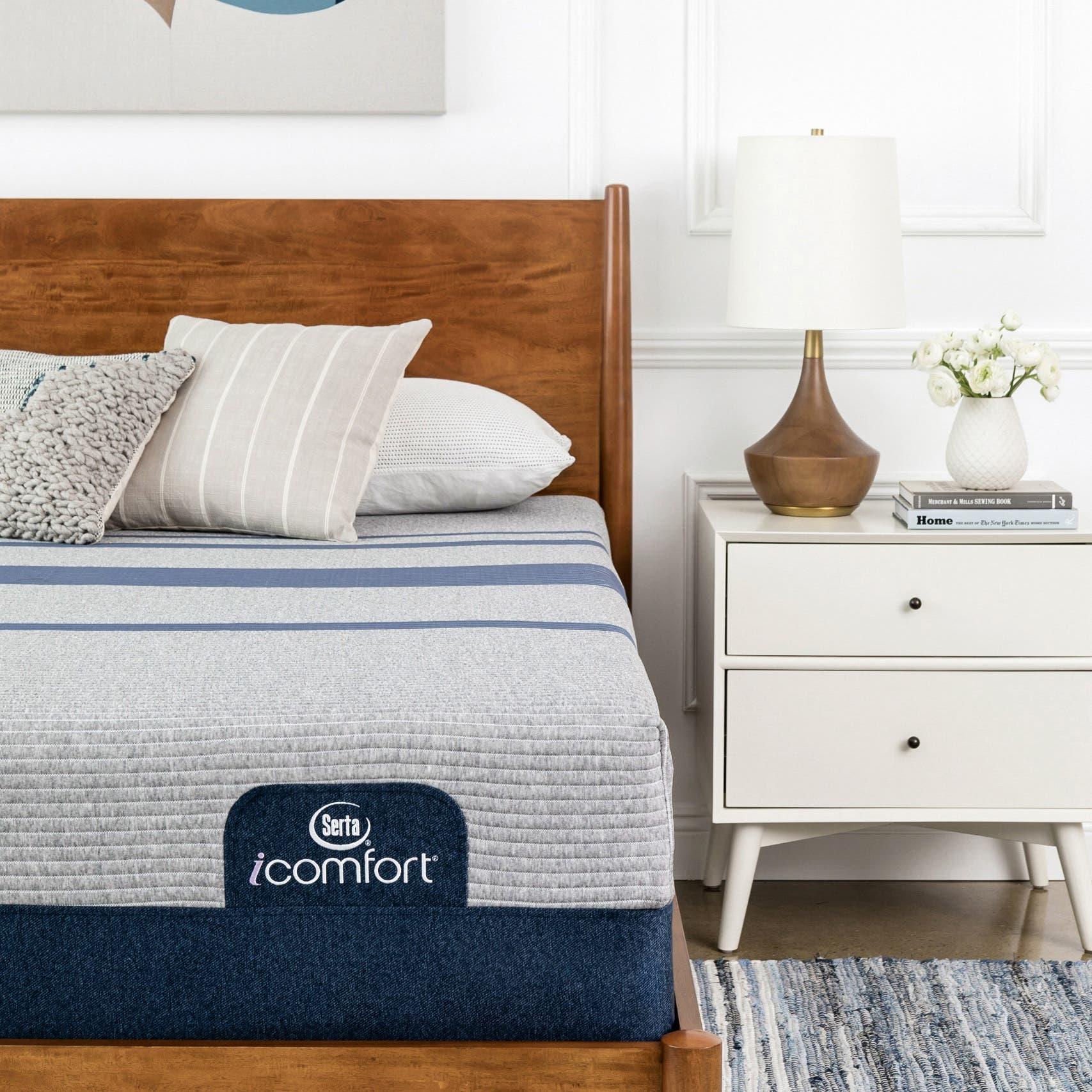 mattresses shop mattresses by size type brands overstock. Black Bedroom Furniture Sets. Home Design Ideas