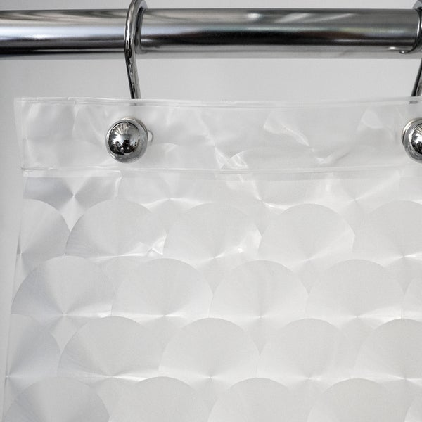 Shop Bubbles Embossed PEVA Shower Curtain 70X72 Clear