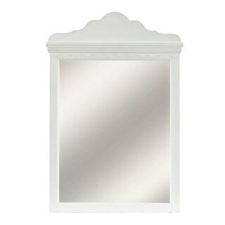 Hillsdale Furniture Lauren White Wood Mirror