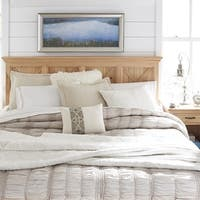 Country Lodge King Headboard & Night Stand - Honey