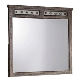 Hillsdale Furniture Bolt Light Greywash Mirror