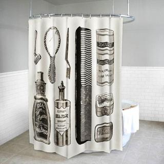 "Vanity Fabric Beige Shower Curtain (70"" x 72"")"
