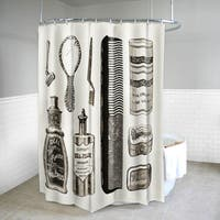 "Vanity Fabric Beige Shower Curtain (70"" x 72"")"