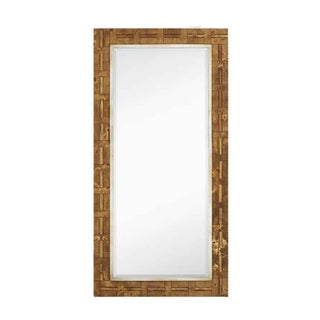 Majestic Blonde Stained Wood 36-inch x 72-inch Wall Mirror