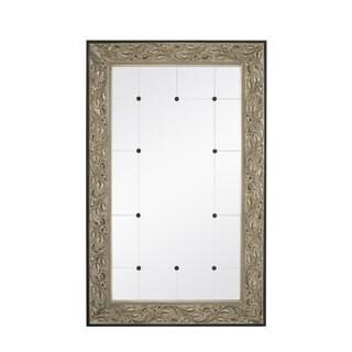 Majestic Antique Silver/ Black 34-inch x 54-inch Mirror