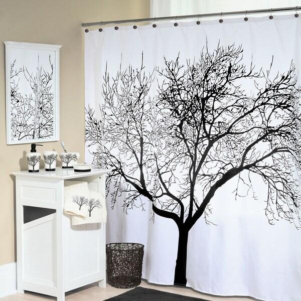 "Tree Fabric Shower Curtain (70""x72"")"