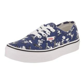 Vans Kids Authentic Peanuts Skate Shoe