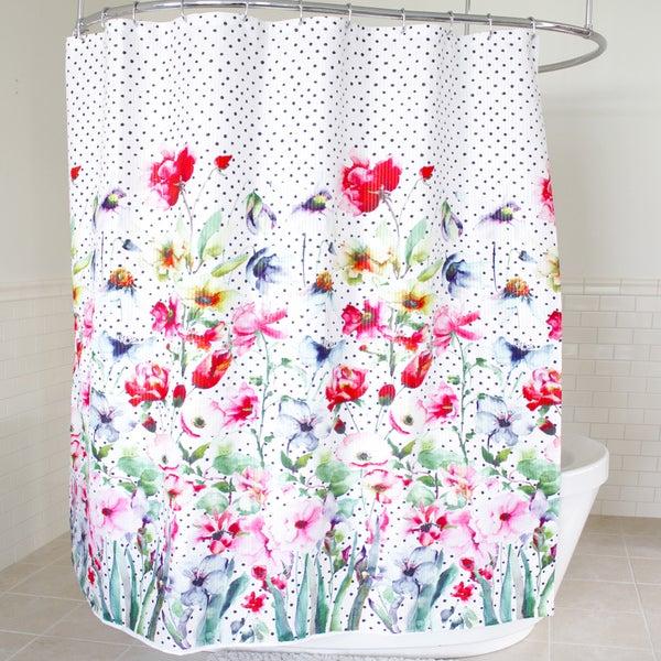 """Bonita Fabric Shower Curtain (70""""x72"""")"""