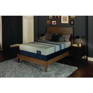 Serta iComfort Blue Max 1000 13-inch Plush California King-size Gel Memory Foam Mattress Set