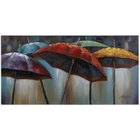 Yosemite Home Decor Umbrellas Original Hand-Painted Wall Art