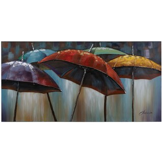 Yosemite Home Decor Umbrellas Original Hand-Painted Wall Art