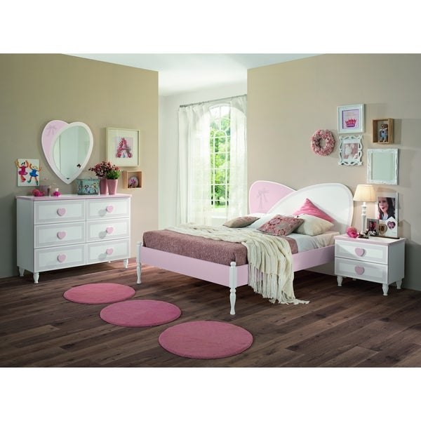 shop my youth princess kids 4 piece full bedroom set - overstock - 16342723