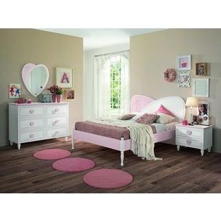 My Youth Princess Kids 4 Piece Twin Bedroom Set