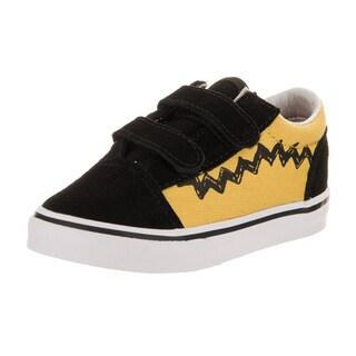 Vans Toddlers Old Skool V (Peanuts) Skate Shoe