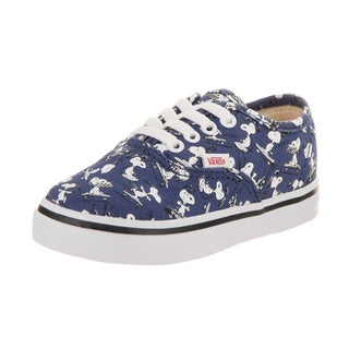 Vans Toddlers Authentic (Peanuts) Skate Shoe (Option: 9.5)