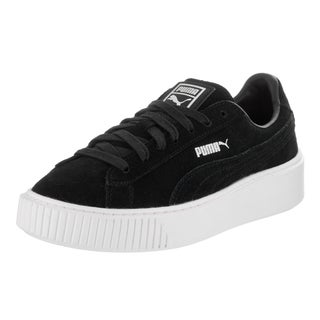 Puma Women's Suede Platform Casual Shoe 6.5 Women US
