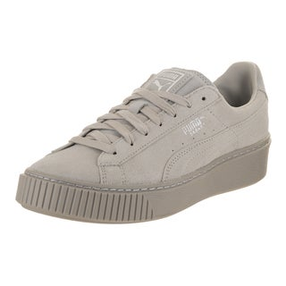 Puma Women's Basket Platform Reset Casual Shoe