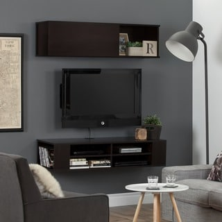 South Shore City Life 48'' Wall Mounted Media Console and Storage Unit