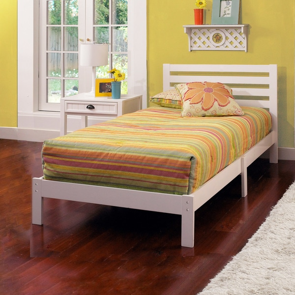 Shop Hillsdale Furniture Aiden Wood Twin Bed Free Shipping Today