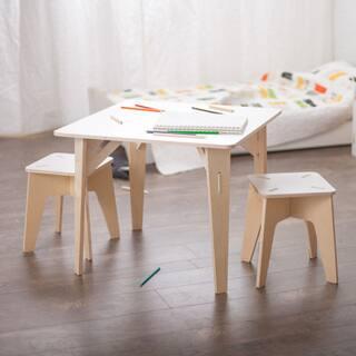 Folding Modern Kids Table And Stool Set Free Shipping