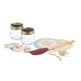 Kilner 16 Piece Jam Making Jar Gift Set