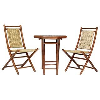Kauai 3-piece Indoor/Outdoor Bistro Set (2 options available)