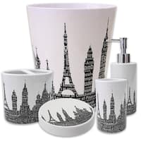Silhouette City 5-Piece Bath Accessory Set or Separates
