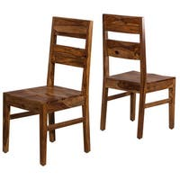 Hillsdale Furniture Emerson Natural Sheesham Wood Dining Chair