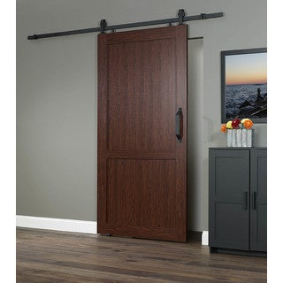 Dogberry country vintage 36 x 82 inch barn door with for 40 inch barn door