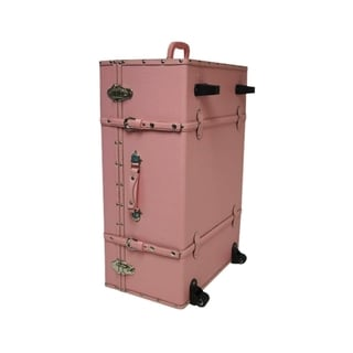 The Designer Wheeled Trunk - Baby Pink