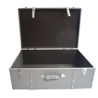 The Designer Wheeled Trunk - Hex Grey