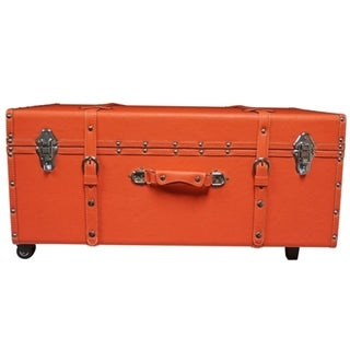 The Designer Wheeled Trunk - Fusion Coral