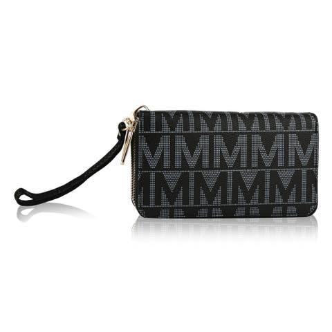 MKF Collectionby Mia K. Farrow Danielle M Signature Wristlet Wallet