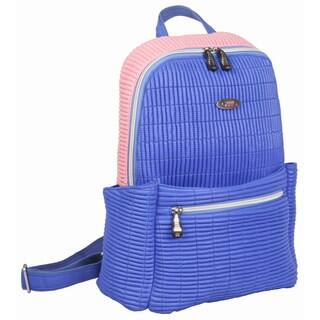 OUUL Ribbed Violet/ Pink Ladies 9-inch Laptop Backpack|https://ak1.ostkcdn.com/images/products/16343226/P22703803.jpg?impolicy=medium