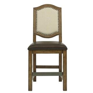 American Attitude Fabric Cappuccinno Frame Gathering Chair