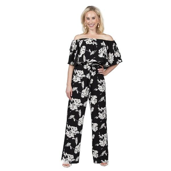 3945d52f2d8 Shop Xehar Women s Floral Print Jumpsuit - Free Shipping On Orders ...