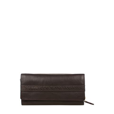 Hidesign Mina RFID Blocking Trifold Leather wallet