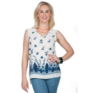 Xehar Women's Sleeveless Boho Top