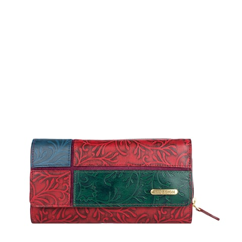 Hidesign Sindhu RFID Blocking Trifold Leather Wallet