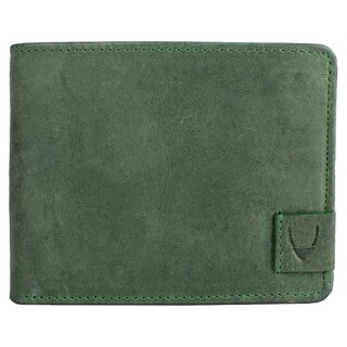 Hidesign Camel Leather RFID Blocking Trifold Wallet