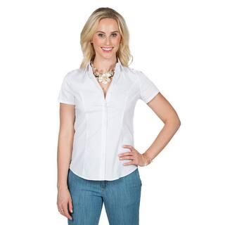 Xehar Women's Collar Button Down Shirt|https://ak1.ostkcdn.com/images/products/16355374/P22714356.jpg?impolicy=medium