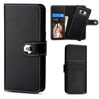 Insten Black Detachable Magnetic Leather Case Cover with Stand/ Wallet Flap Pouch/ Photo Display For Samsung Galaxy S8 Plus S8+