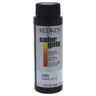 Redken Color Gels Permanent Conditioning Hair Color 10N Creme Latte